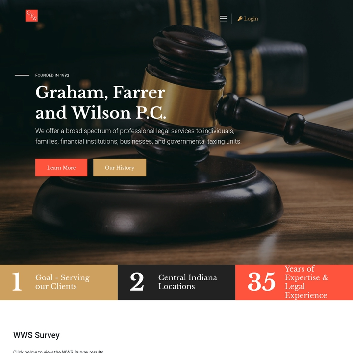 GHFW P.C. Law Firm 2019